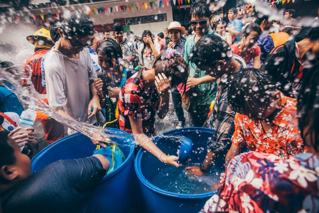 It names as the largest water fight in the world so prepare to be drenched