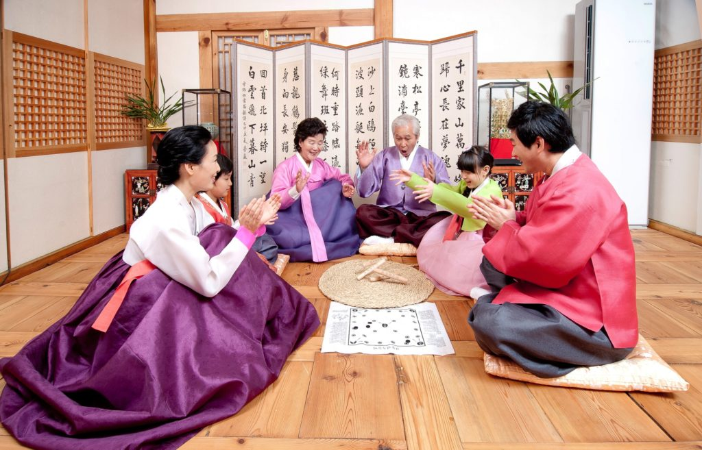 Seollal, or Korean Lunar New Year, is typically a family holiday