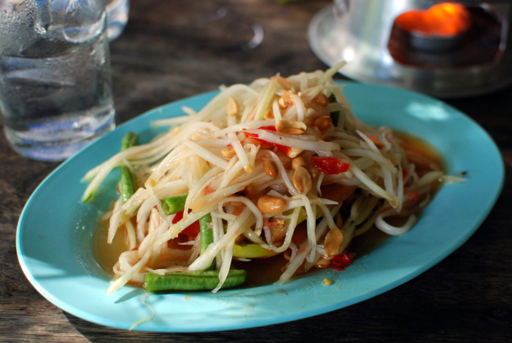 Som Tam (or Green Papaya Salad)