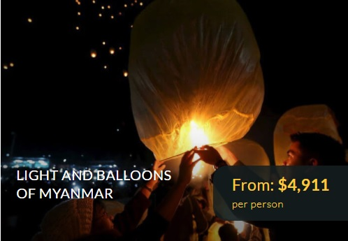 Light and Balloon of Myanmar