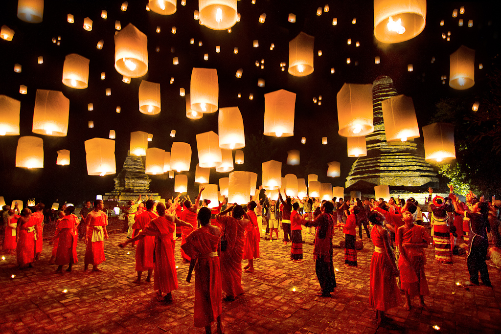 Thailand has the best lantern festival in the world