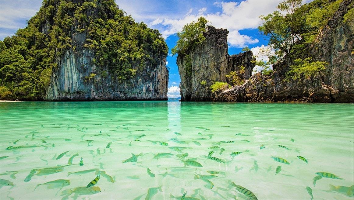 Go On A Four Island Tour