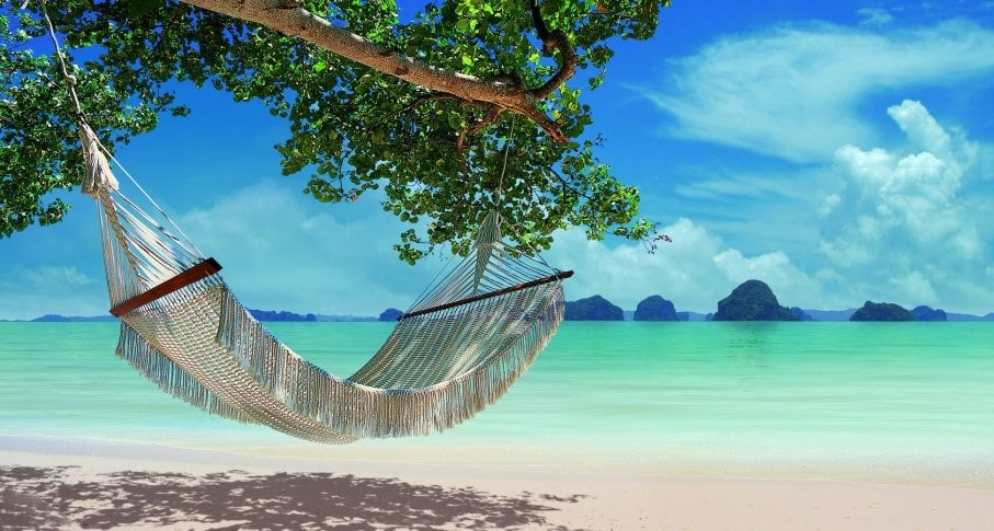 Time to relax on the beautiful Krabi beach