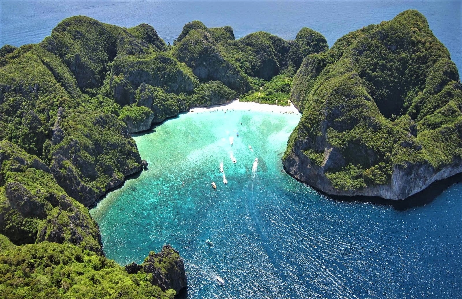 Phi Phi is one of the most beautiful islands of Southeast Asia