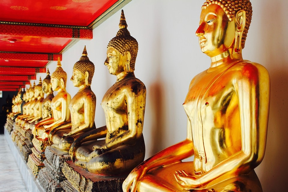 Spend your time to visit Wat Pho. It is also known as the birthplace of traditional Thai massage which is still taught and practiced at the temple
