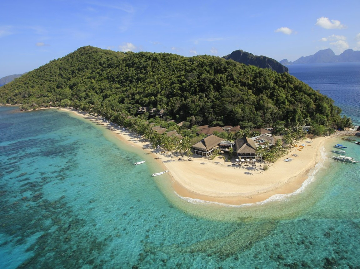 El Nido Resort has 4 properties in Palawan but the Pangulasian may the most luxurious
