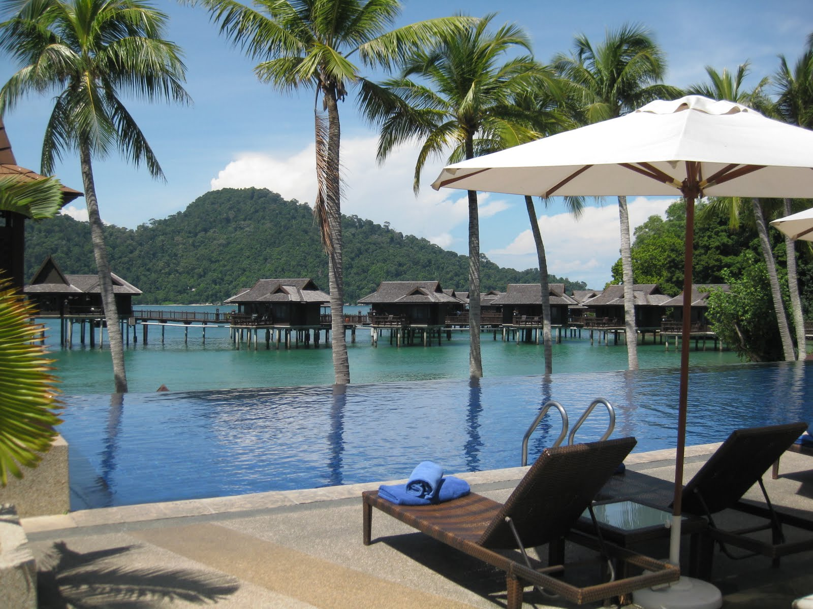 Pangkor Laut Resort is a peaceful paradise