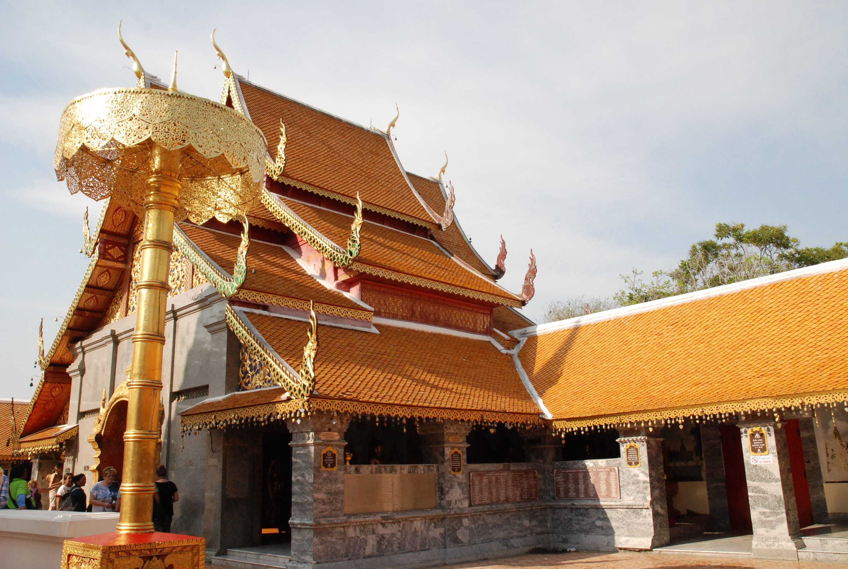 Chiang Mai is home to more than 300 'Wats' scattered throughout the city