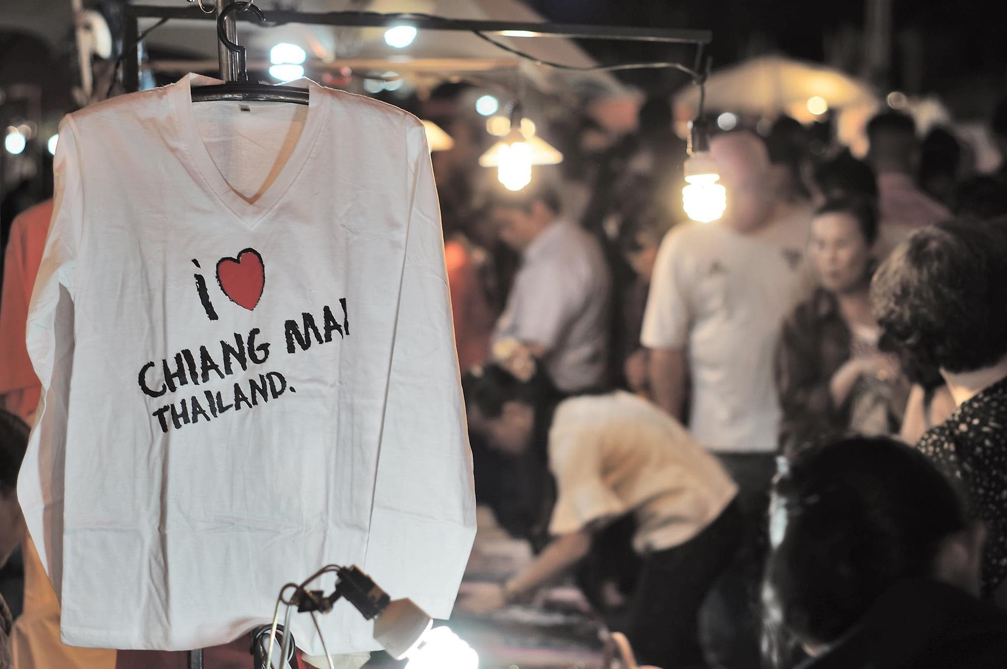 Chiang Mai Sunday walking market is a heaven for retail shoppers