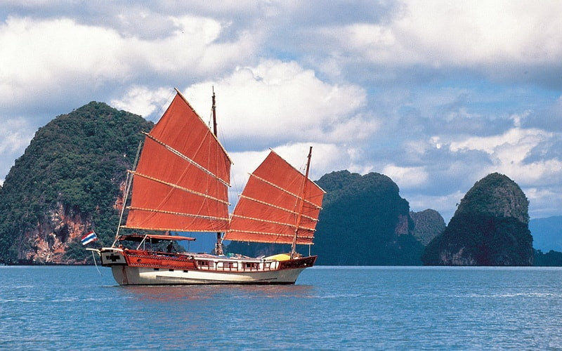 Visit Phuket from December to March to take advantage of its calm and warm sea