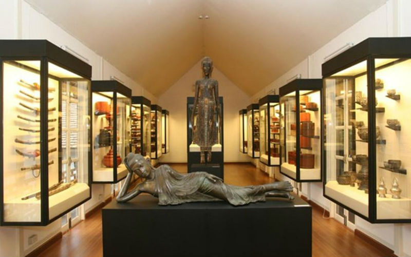 Thai art and Lanna artifacts which not only tell you history but preserves it for future generations