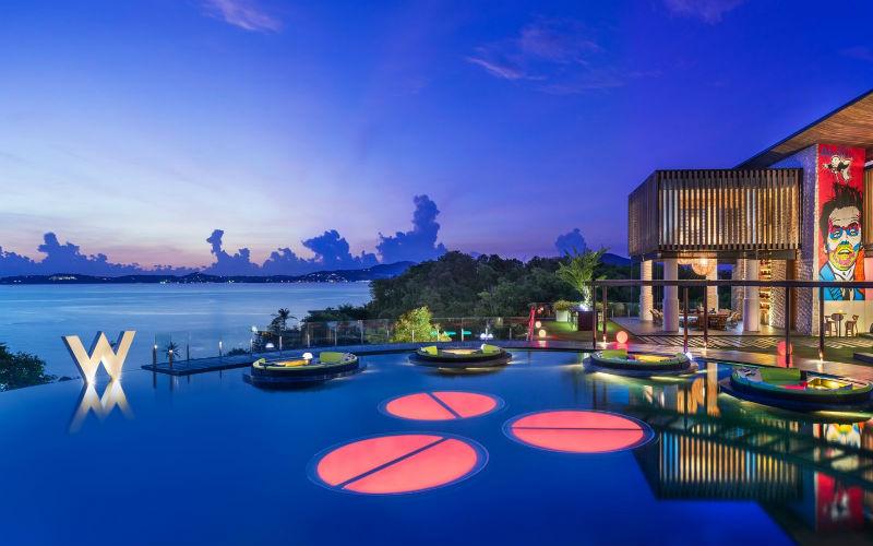 A unique tropical paradise - W Retreat Koh Samui