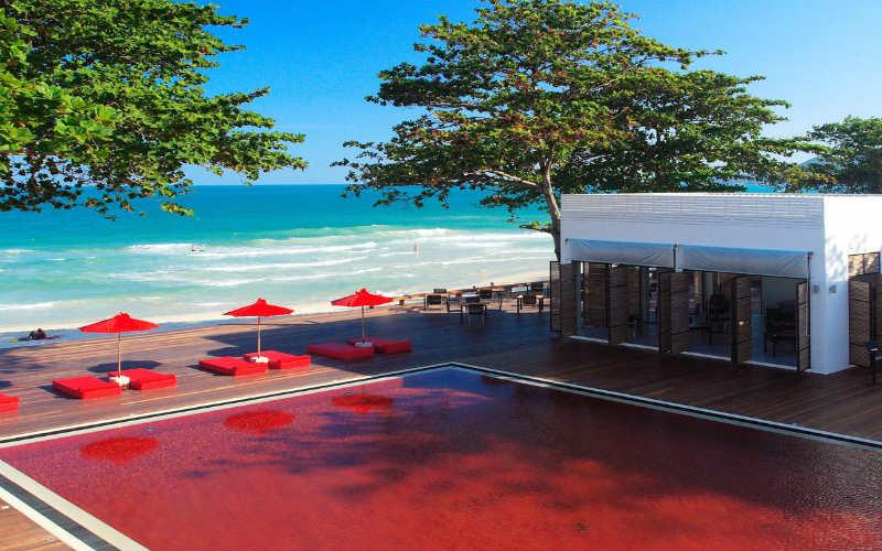 A minimalist resort