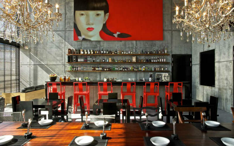 The tasty West-meets-East cuisine with a homey feel and fantastic presentation
