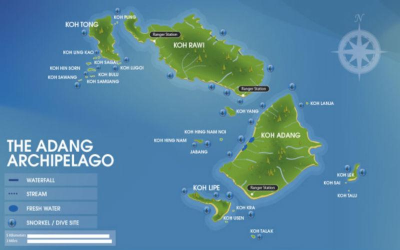 The Adang Archipelago