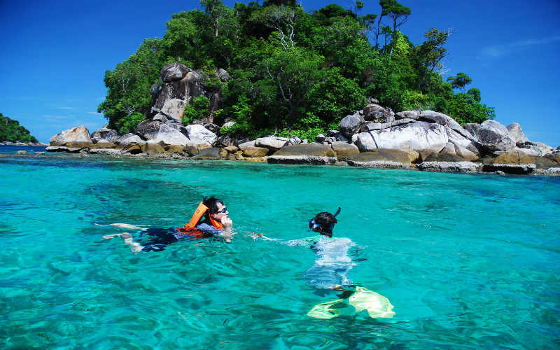 breathtaking scenes of the Adang Archipelago group of islands