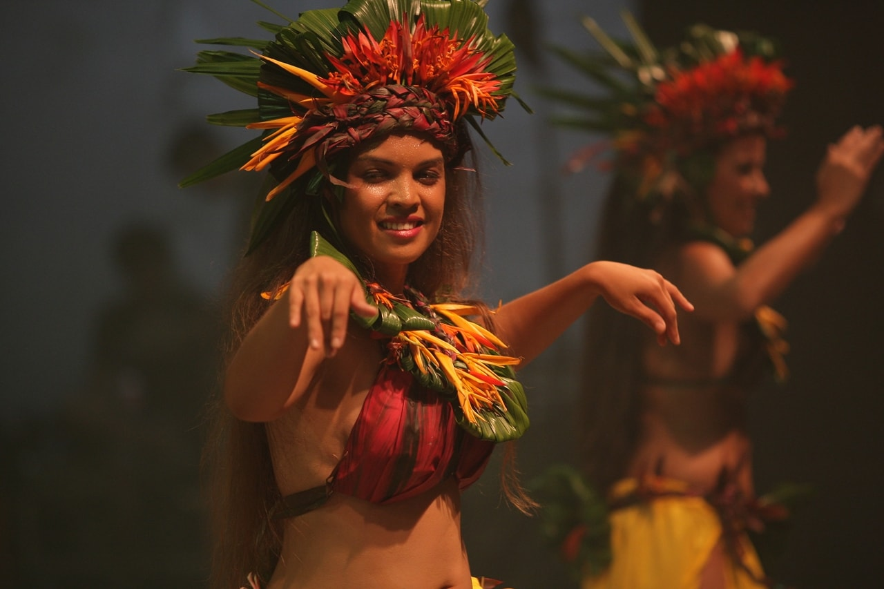 A performance in Rainforest World Music Festival  2017