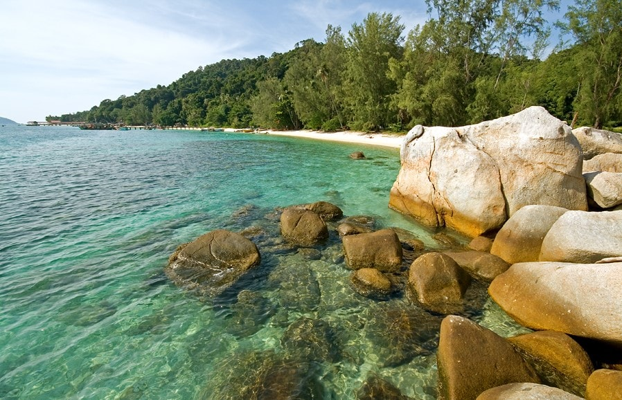 Perhentian Besar - a perfect place for couples, honeymooners, and families