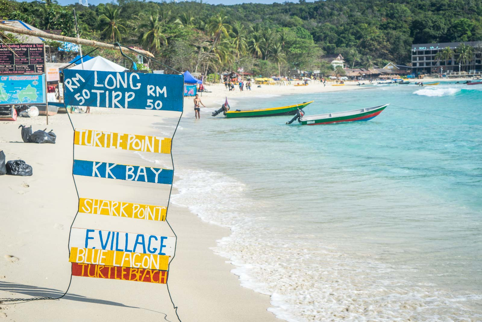 Summer is the best time to visit the Perhentian Islands