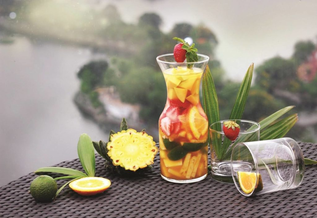 Welcome summer with a cocktail from the 20th floor of the luxury Pan Pacific hotel