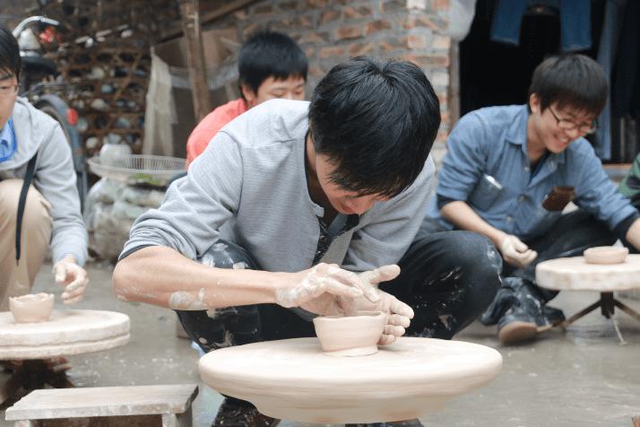 Learn to make pottery at Bat Trang Ceramic Village