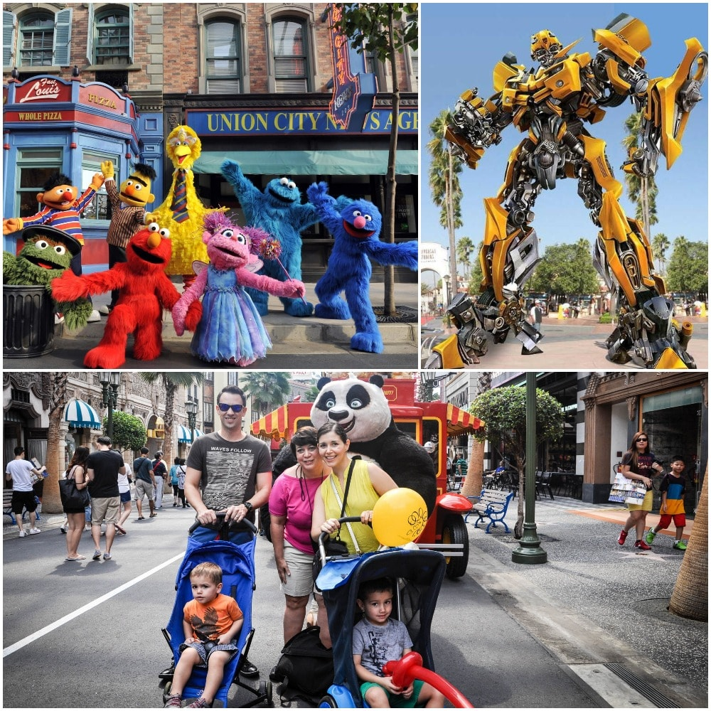 The Hollywood Universal themed park feature exciting performances for both adult and kid