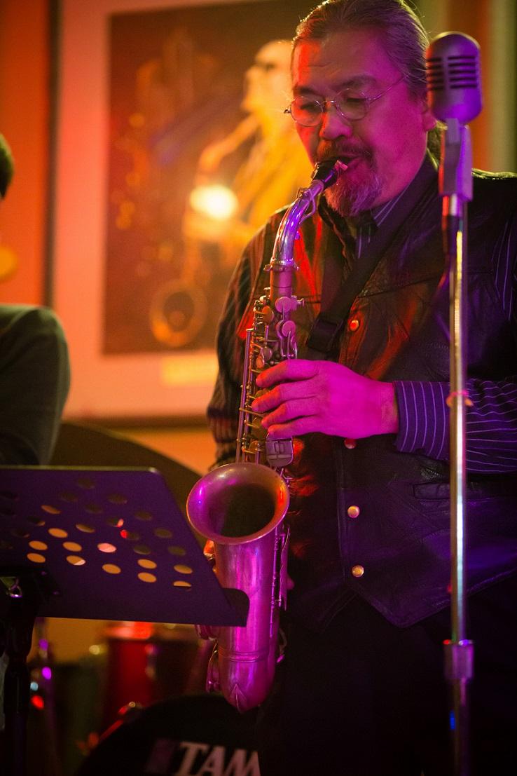 Jazz artist Quyen Van Minh - owner of Binh Minh Jazz