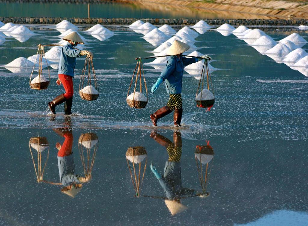 Ninh Diem salt fields