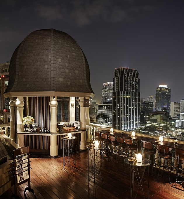 The Speakeasy on the 25th floor with amazing views to the city