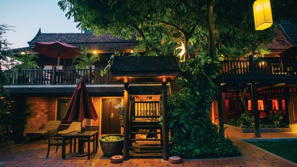 An oasis of calmness in the bustle of Bangkok
