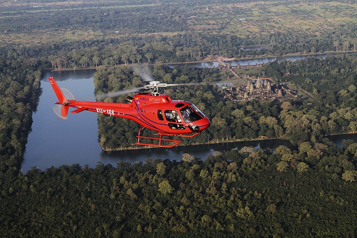 Helicopter-images-Angkor-Wat-view