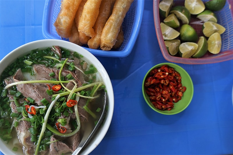 Pho- Vietnam Rice Noodle with beef