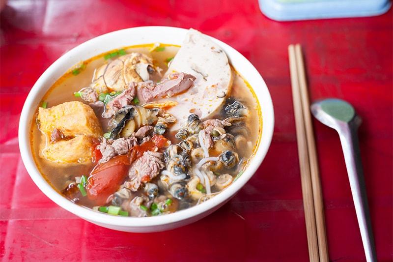 Vietnamese Snail Noodle Soup