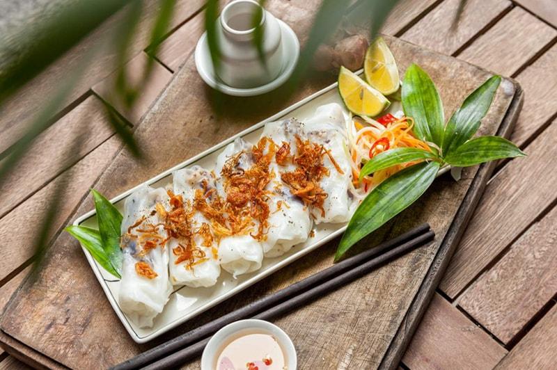 Banh Cuon - Rolled Cake