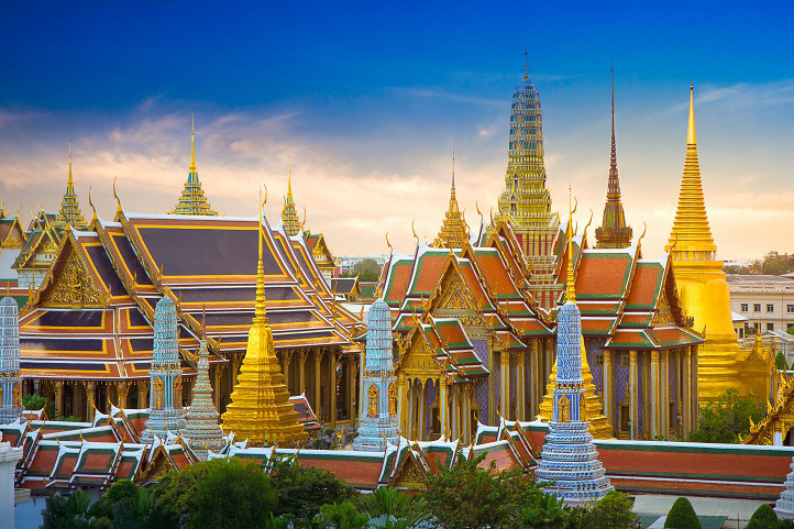 Wat Phra Kaew is home to the holiest Emerald Buddha statue in Thailand