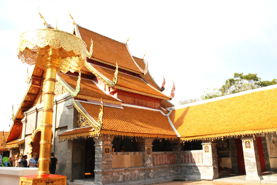 Dates back to 14th century, Wat Phra That Doi Suthep is an impressive embodiment of the Lanna culture