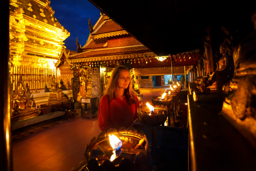 It is one of the best attractions of Chiang MaiEntrance: 30 baht