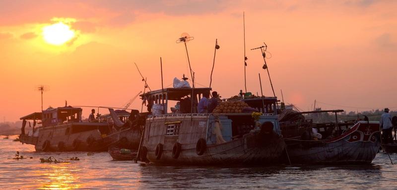 Mekong Delta & River