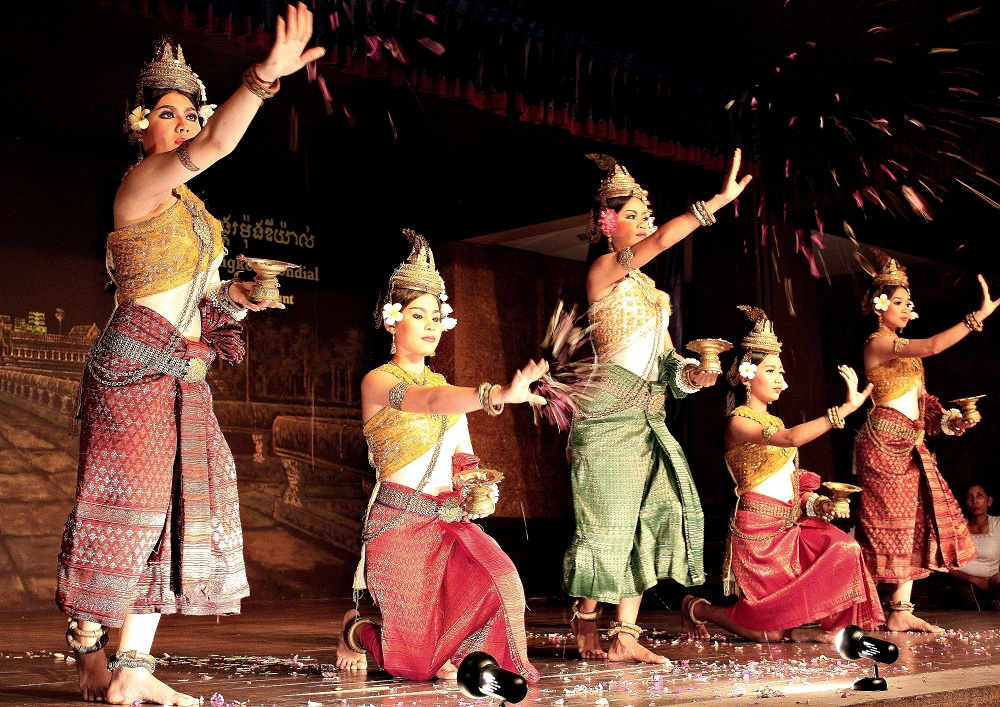 Apsara - Passionate Traditional Dance Of Khmer People ...