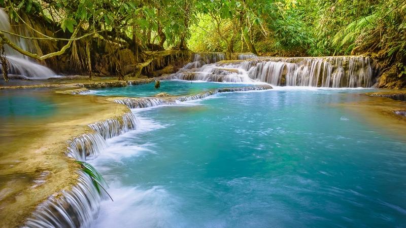 Kuang Si waterfall-laos