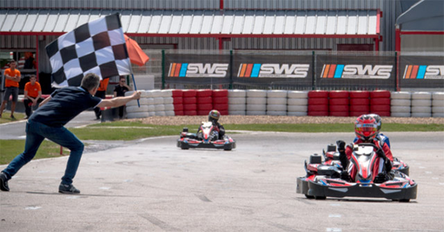 Drive a Go-Kart On a purpose-built Racetrack at Exotics Racing
