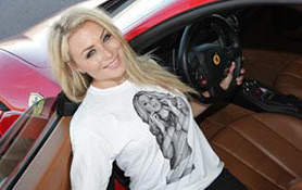 Miss Supercross drove a Lamborghini Superleggera and she loved it!