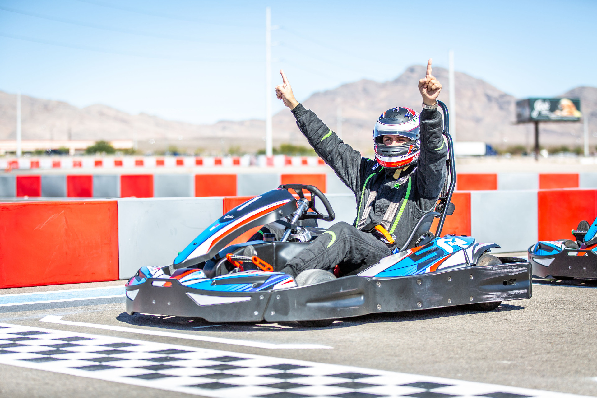Drive Go-Kart in Las Vegas | VegasSuperkarts com
