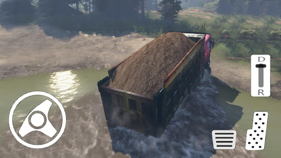 Games lol   Game » Truck Driver Operation Sand Transporter