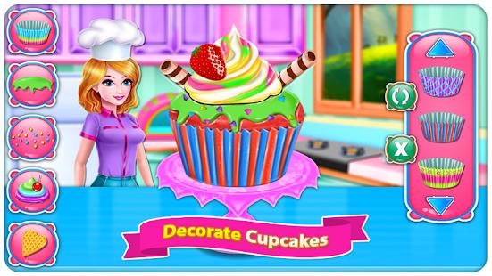 Baking Cupcakes 7 - Cooking Games Screenshot