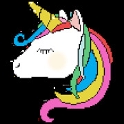 Unicorn Color By Number - Paint Book