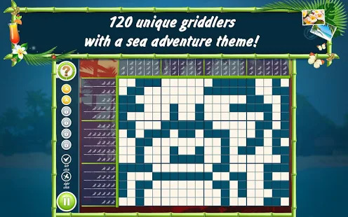 Picross Beach Season Free Screenshot