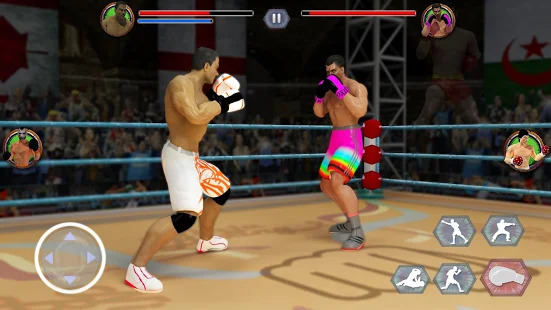World Tag Team Super Punch Boxing Star Champion 3D Screenshot