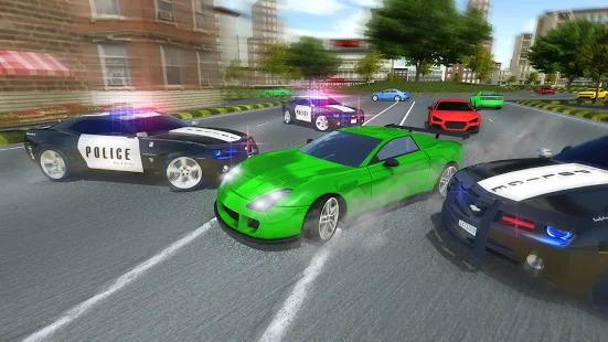 Police Car Chase : Hot Pursuit Screenshot