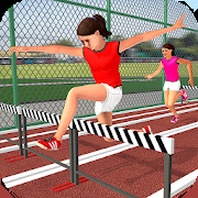 High School Girl Virtual Sports Day Game For Girls